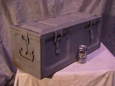 Ammo Box Can Vintage WW II Era Dated 1945 Navy Logo