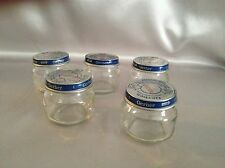 Lot of 24 Matching 2.5 ounce Gerber Baby Food Jars w/Lids