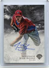 2013 BOWMAN INCEPTION #PA-JBI JESSE BIDDLE AUTOGRAPH AUTO ROOKIE RC - PHILLIES