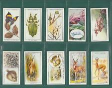 CARD COLLECTORS SOCIETY - SET OF 50 OGDEN'S ' COLOUR IN NATURE ' CARDS
