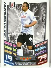 Match Attax 2012/13 Premier League - #089 Dimitar Berbatov - Fulham