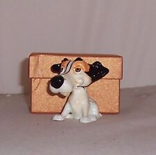LITTLE PAWS Miniatures - figurine boxes Wilf the Jack Russell