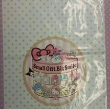 Sanrio Small Gift, Big Smile 5pc Large Plastic Gift Bags