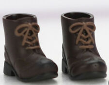 Obitsu Doll shoes short boots for 11cm (Azone 1/12 doll) BRN F/S