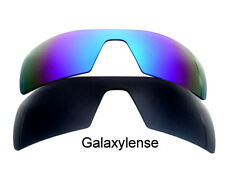Galaxy Replacement Lenses For Oakley Oil Rig Black&Blue Polarized 2 Pairs