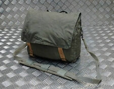 Genuine Vintage Military Issued Canvas Shoulder Bag / Mini Backpack Green / Grey