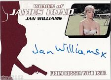 JAMES BOND 2014 ARCHIVES WA46 JAN WILLIAMS AUTOGRAPH FROM RUSSIA WITH LOVE