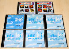 CD SAMMLUNG BRAUN EUROCHARTS MTV U96 WESTBAM SCOOTER MADONNA ICE MC GUNS N ROSES