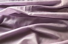 Lilac Purple Silk Cotton Fabric Ideal- Clothing, Dress Making, Costume, Homeware