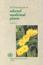 WHO Monographs on Selected Medicinal Plants
