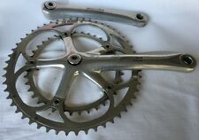 Campagnolo Chorus 175 Crankset 10 Speed Square Taper Made In Italy 53/39