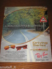 *AO42=RAY-BAN OCCHIALI SUNGLASSES=PUBBLICITA'=ADVERTISING=WERBUNG=COUPURE=