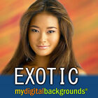 EXOTIC Digital Photography Backdrops Backgrounds Muslin Greenscreen