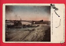 EAST ST LOUIS IL FERRY & BRIDGE 1909 ARMSTRONG GREENVILLE OHIO OH   POSTCARD