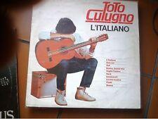 """LP 12"""" TOTO CUTUGNO L'ITALIANO CAROSELLO REISSUE ORIZZONTE ORL 8779 EX"""