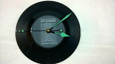 "JOY DIVISION Unknown Pleasures 7"" VINYL Single Wall Hanging Clock (Gift/Xmas)"