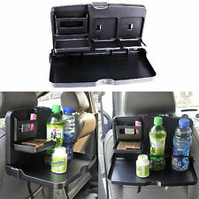 1x Folding Auto Car Back Seat Dining Table Drink Food Cup Tray Holder Stand Desk