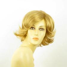 Perruque femme courte blond doré MARION 24B