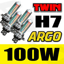 H7 XENON SUPER WHITE 100W BULBS MAIN BEAM 12V HEADLIGHT HEADLAMP HID LIGHT X 4