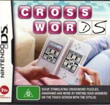 Cross Words (CrossWords) Nintendo NDS DS Lite DSi XL Brand New