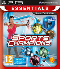 Essentials Sports Champions PS3 Playstation 3 IT IMPORT