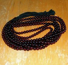 3 PERSIAN PRAYER RED 99 MEDITATION BEADS MUSLIM ISLAMIC ELAHI TASBIH AFGHANISTAN