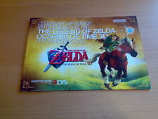 Zelda Ocarina of Time 3D 25 th Anniversary Poster GamesCom Nintendo 2011