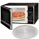 Microwave Pizza Plate Cook Bacon Sausage Meat Dishwasher Safe Round Pan Tray NEW
