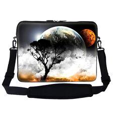 """15.6"""" Laptop Computer Sleeve Case Bag w Handle & Shoulder Strap 409"""