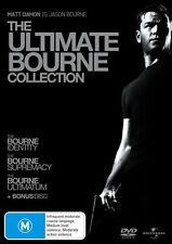 The Bourne Identity /Supremacy / Ultimatum / (3 Disc Set) Regions 2,4