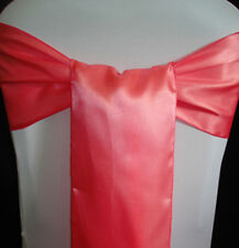 150 satin Chair Cover Sash Bow Wedding Banquet decor 30 color SHIP TO WORLD-WIDE