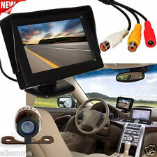 170° 4.3''LCD Auto Retrovisore Backup Controllo+Wireless Parcheggio