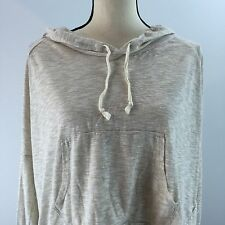 Hollister Women's Gray Light Hoodie Size Medium/Large