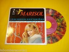 "MARISOL  Canciones Navideñas EP (EX/EX) multi color 1964  single 7"" Ç"