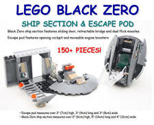 NEW LEGO® 76009 MARVEL SUPER HEROES 150+ PIECES BLACK ZERO SHIP PARTS ESCAPE POD