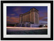 Michigan Central Station Detroit Old Amtrak Train 13x19 Photo Art Print Poster