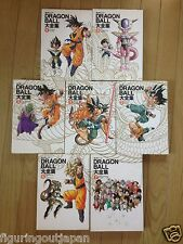Dragon Ball DBZ Super Daizenshuu Set 1-7 Guidebook Art book Shueisha Japan