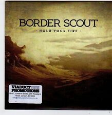 (FG908) Border Scout, Hold Your Fire - 2014 DJ CD