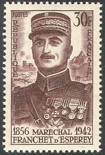 France 1956 Marshal d'Eseperey/Military/People/Army/Soldiers/Battles 1v (n33425)