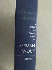 THE CAINE MUTINY by Herman Wouk 1954 HC