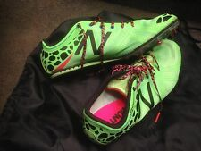 New Balance Track Shoes MMD500B3 SILENT HUNTER Lime Green Leopard US Size 9.5