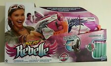 Nerf Rebelle Sweet Revenge Kit Includes A Blaster, Holster, Darts And Goggles