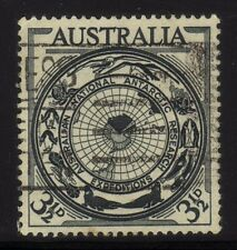 [JSC]1954 Australia National Antarctic Research Expeditions 3 1/2d old stamp