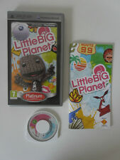 LITTLE BIG PLANET - SONY PSP - JEU PSP PLATINUM COMPLET