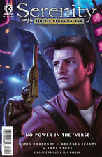 SERENITY NO POWER IN THE VERSE #1, COVER A, New, First print, Dark Horse (2016)
