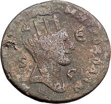 PHILIP II 244AD Antioch TYCHE RAM Large Authentic Ancient Roman Coin i48634