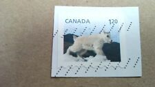 "Canada, Mountain Goat  Stamp, 1"" x 3/4"", 1.20"