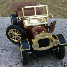 The 5 Inch Vintage Car Models Classic Cabrio Sound & Light Toy Cars Gifts Brown