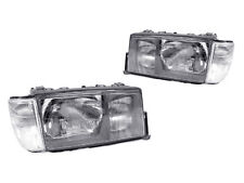 USA DEPO 84-94 MERCEDES BENZ W201 EURO GLASS HEADLIGHTS+CORNER LAMPS+ FOG LIGHTS