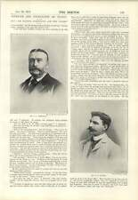1894 Sir John Armstrong And The Globe W A Locker Interview